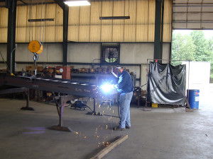 Apel Steel custom fabrication shop